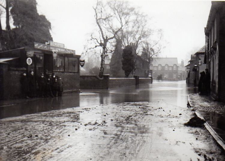 Station Road Flood