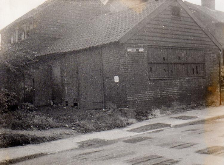 College Road, 1950s