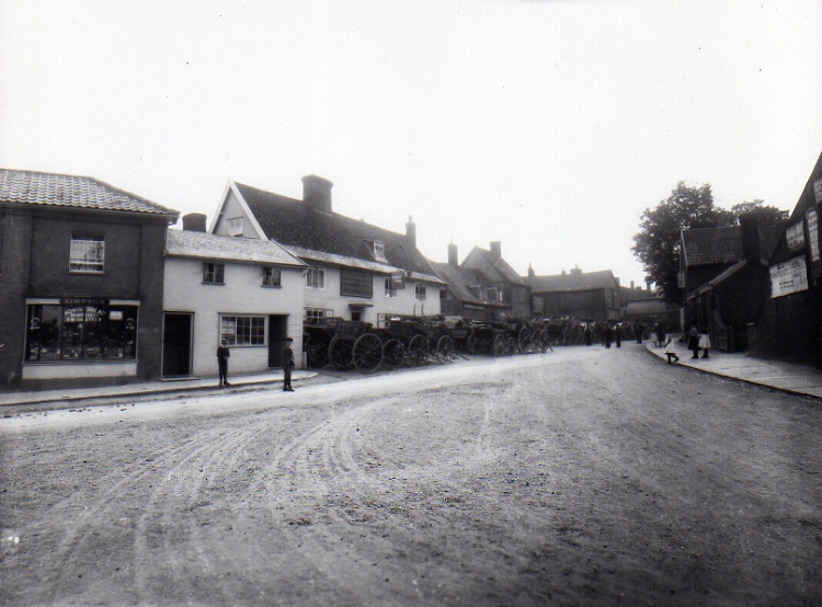 Well Close Square, c.1905