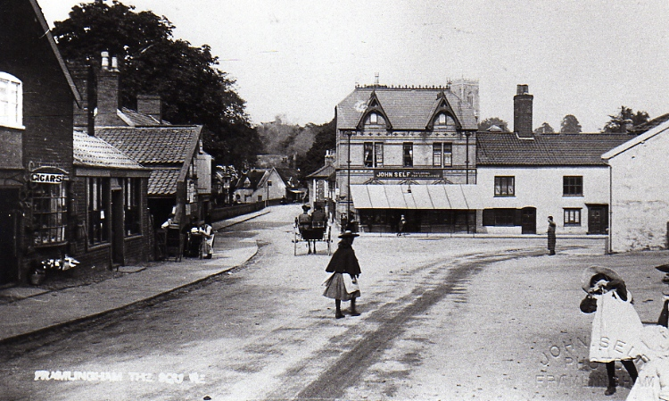 Well Close Square c.1905