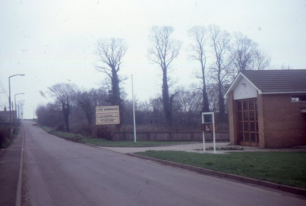 Mowbrays site, Saxmundham Road