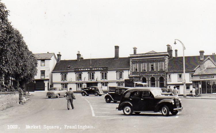 Market Hill 1950s.