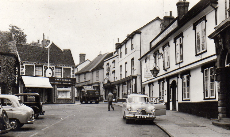 Market Hill, Late 1950s