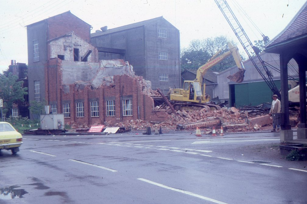 Demolition at Haynings