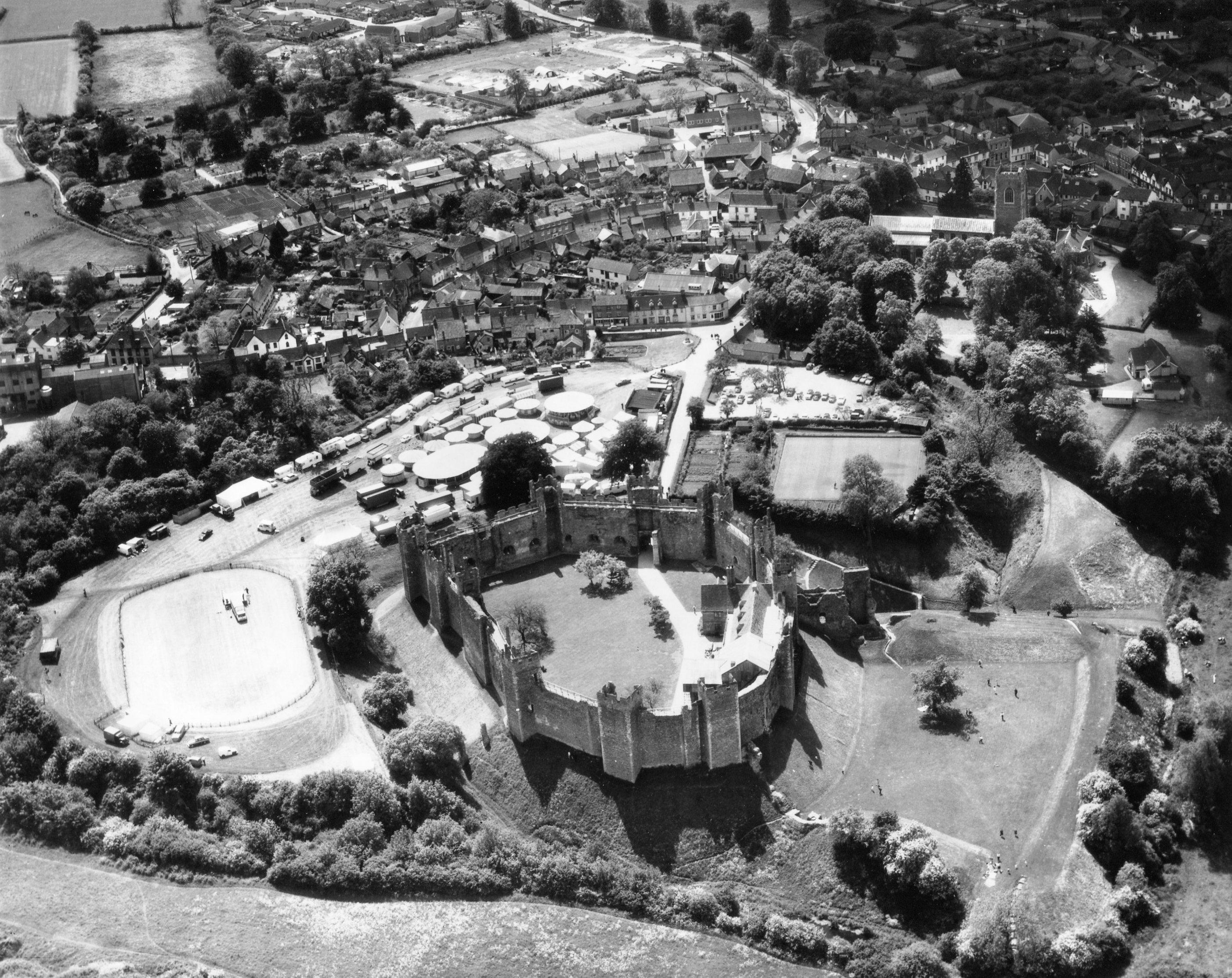 Castle and fun fair