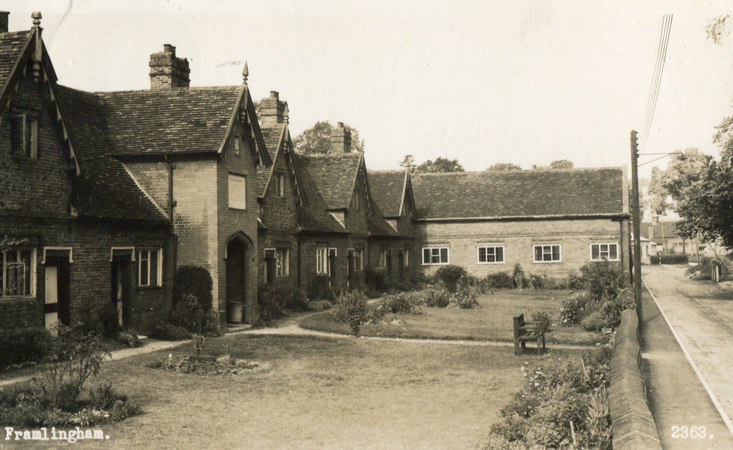 Sir Robert Hitcham's almshouses