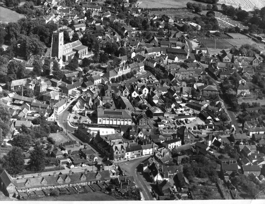 Aerial view in 1964