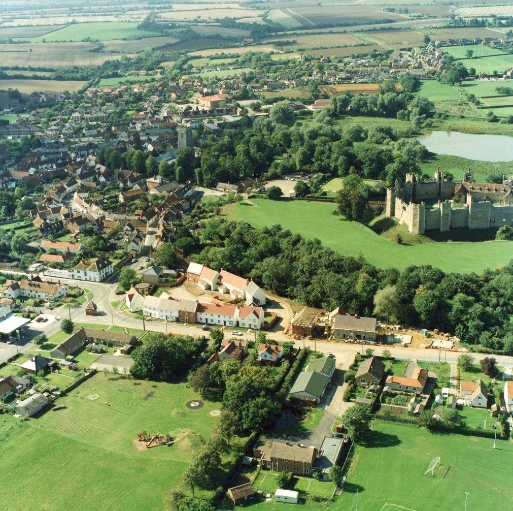 Aerial view, 1995