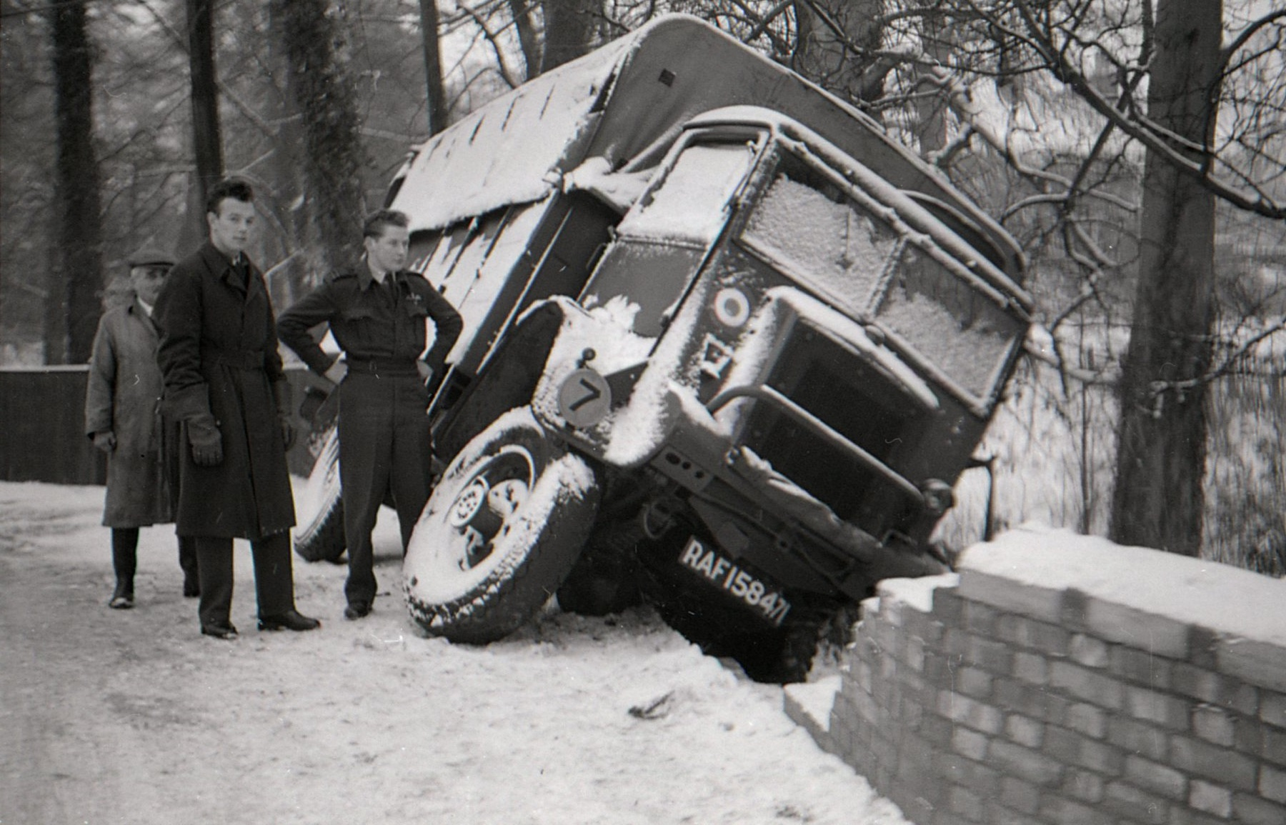 Broadwater lorry accident