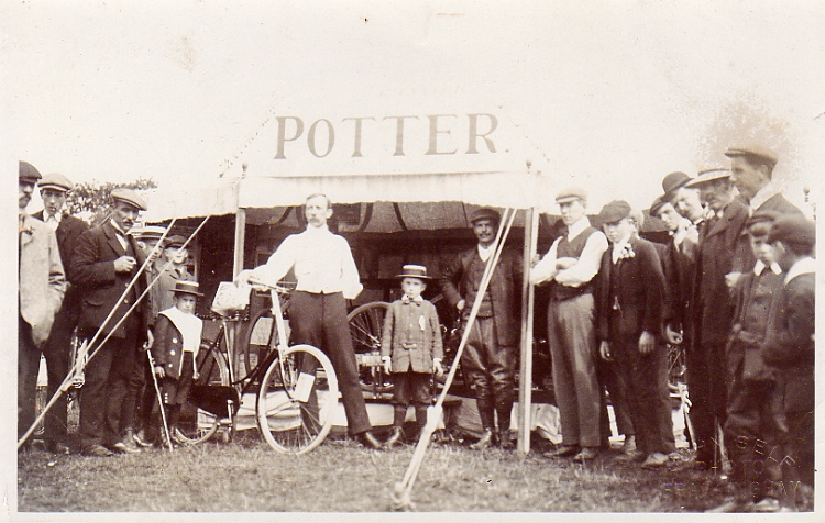 Potters Cycle Stand, c.1905
