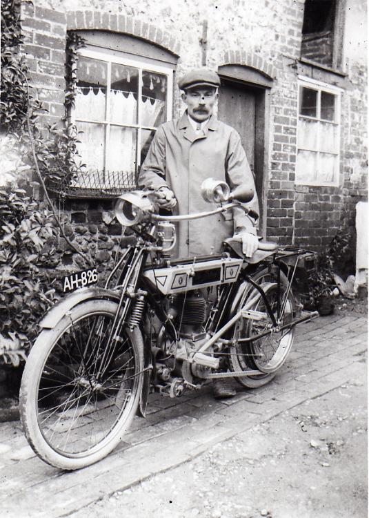Bradbury Motor Cycle, c.1912