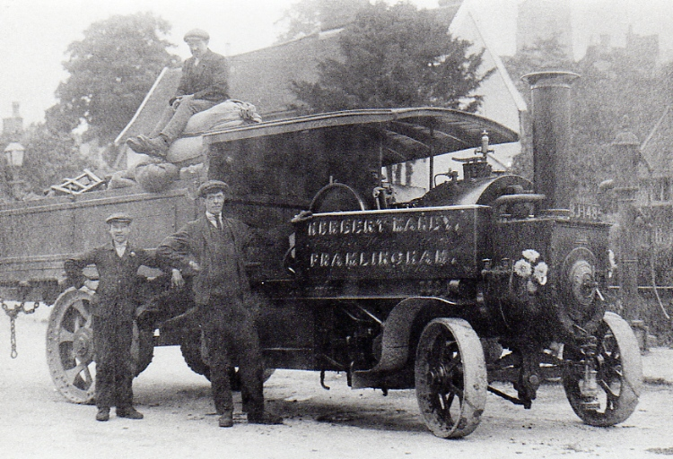 Manby's 1912 Steam Wagon