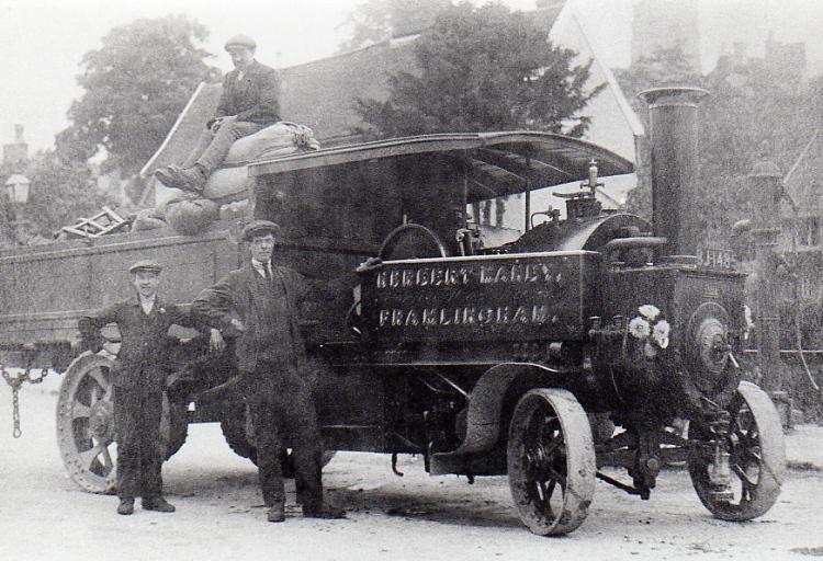 Manby's 1912 Steam Wagon