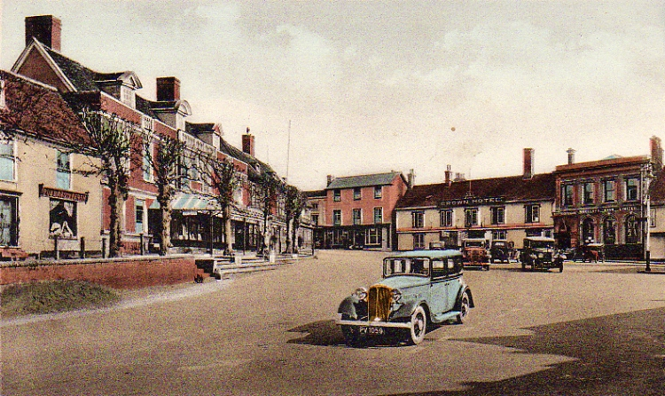 Market Hill, mid 1930s