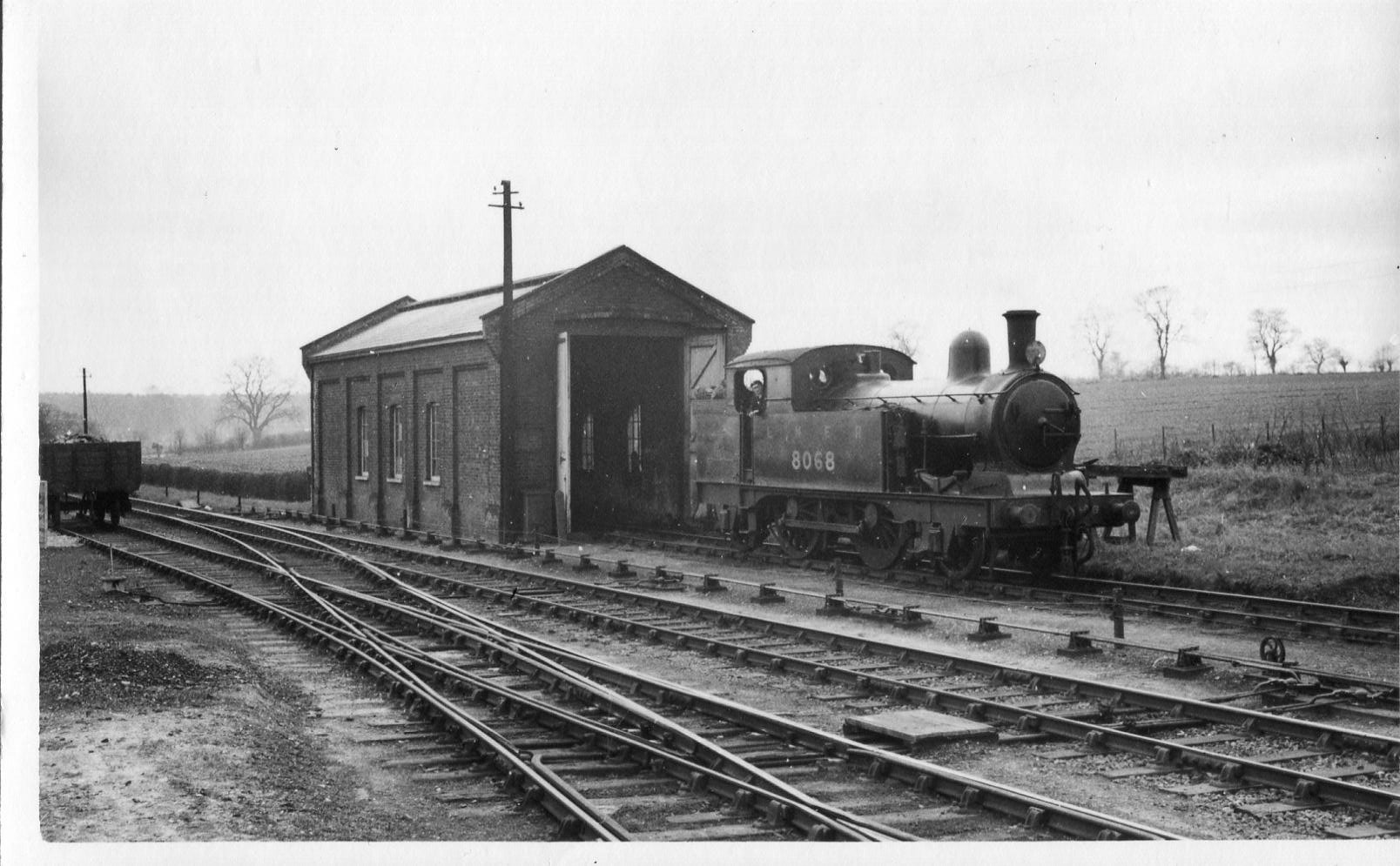 Engine shed, 29 March, 1937