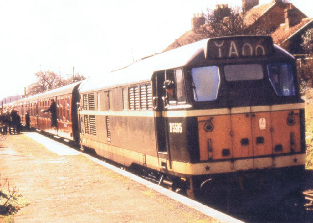 Framlingham Station, 1963