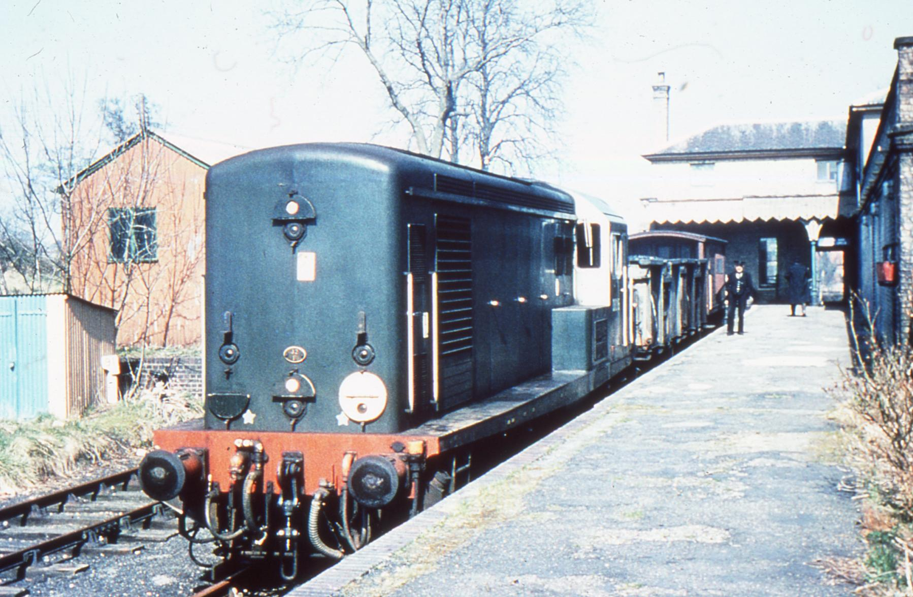 Class 15 Paxman diesel