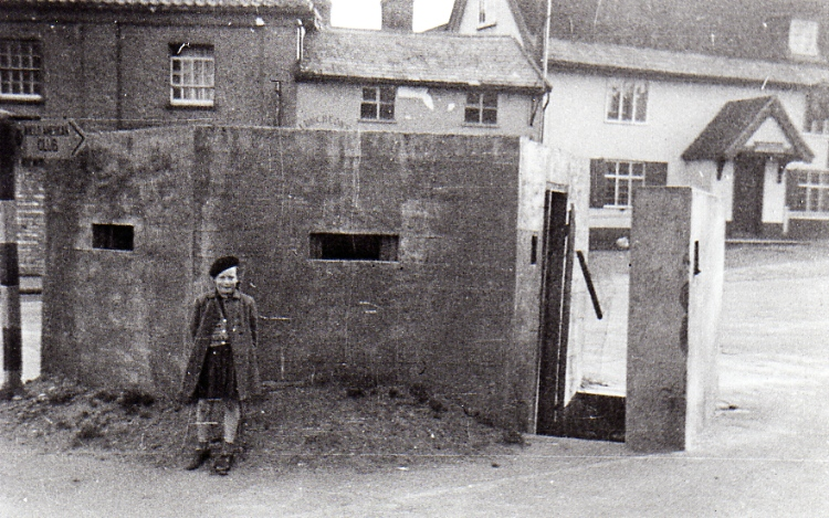 Concrete Pill Box, Well Close Square c.1944