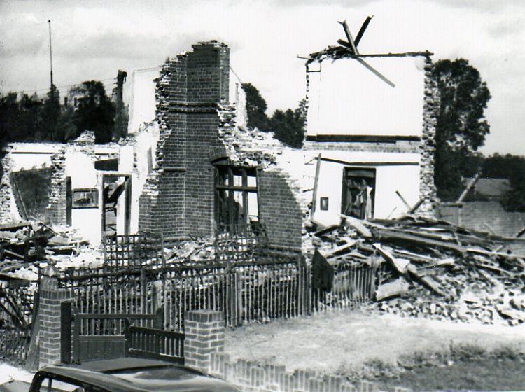 Bomb Damage, College Road