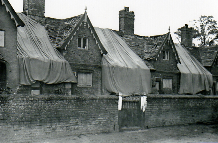 Bomb Damage, New Road