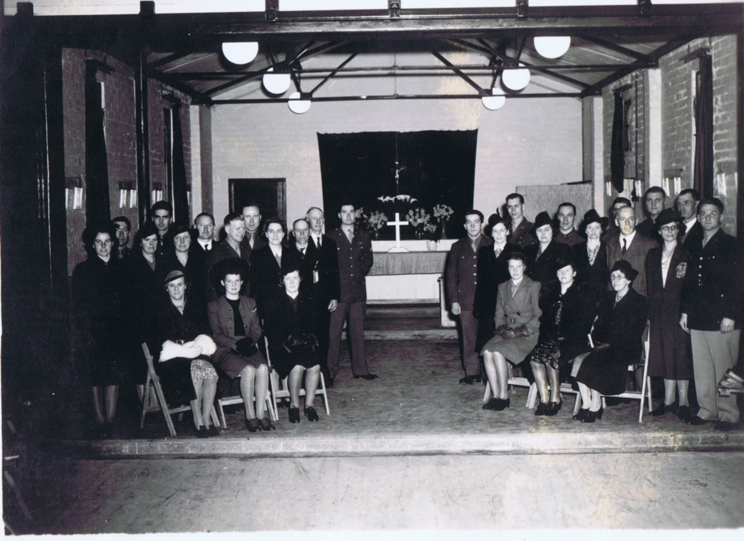 Methodist Choir, 1944