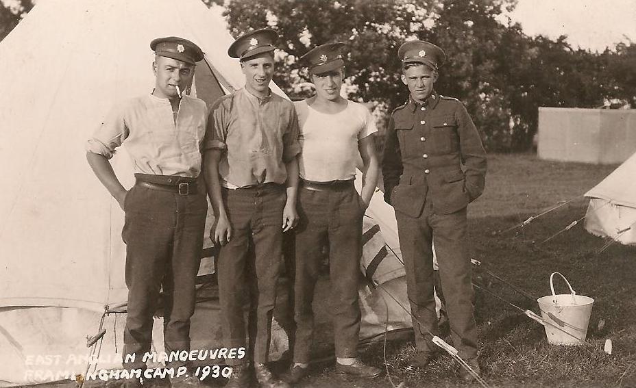 Military manoeuvres 1930