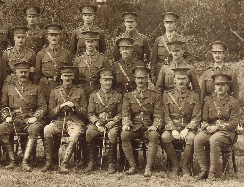 Officers of the 4th Battalion