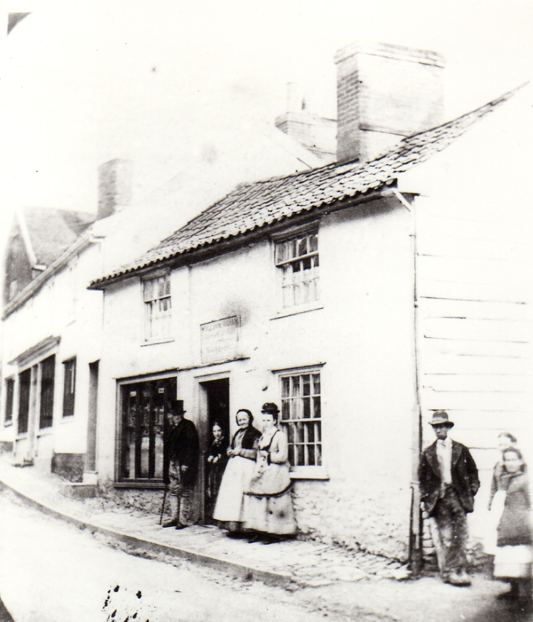 William Hearn's Fruit Shop, Bridge Street, c.1870