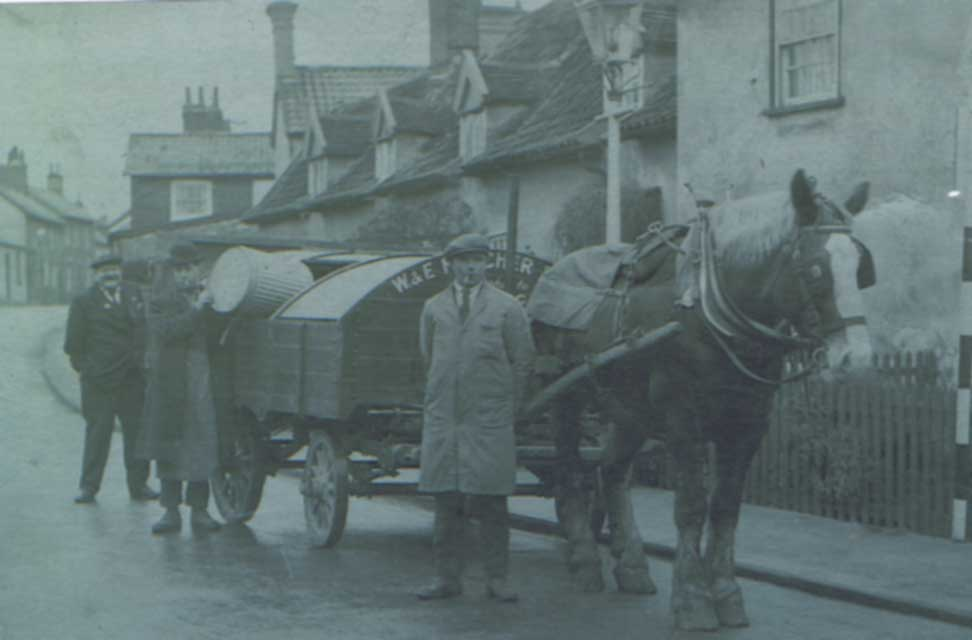 Dust Cart, College Road c.1925