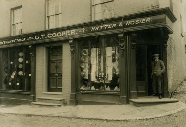 Cooper's shop, Market Hill