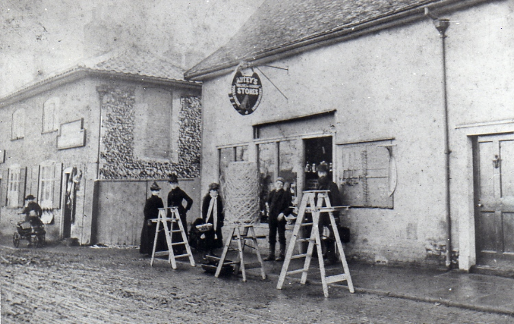 Autey's Ironmongery Shop, Bridge Street, c. 1890