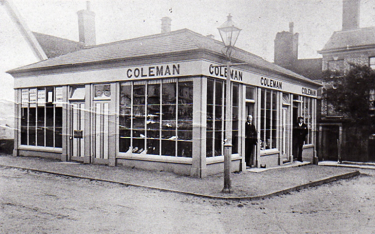 Coleman's Shoe Shop, Market Hill