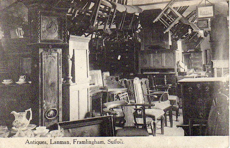 Lanman's Antique Shop Interior