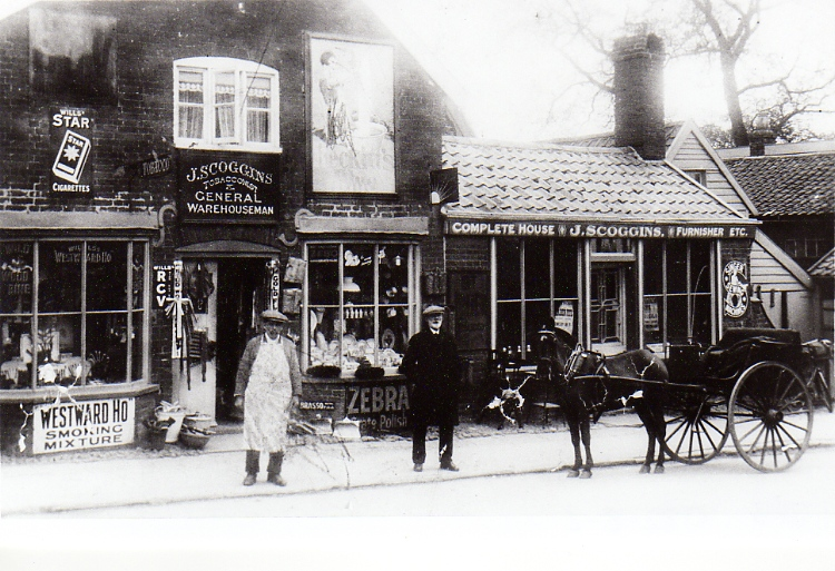 Jarvis Scoggins' Shop, Well Close Square