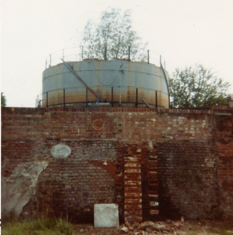 Gasometer, College Road