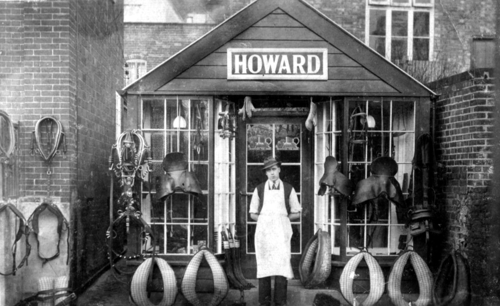 Howard's saddlery shop, Fore Street